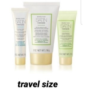 Satin Hands Pampering Set travel size 3 pieces